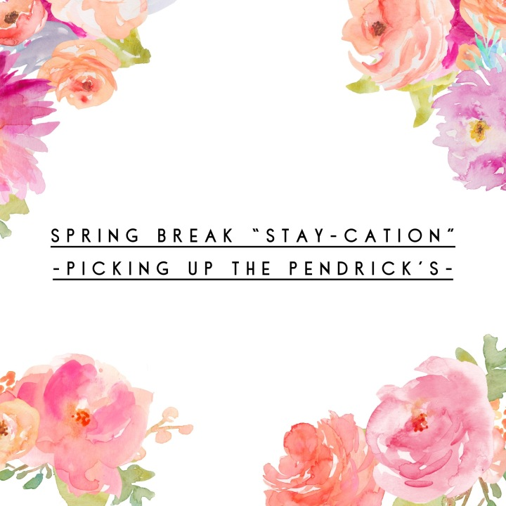 "Spring Break ""Stay-cation"""