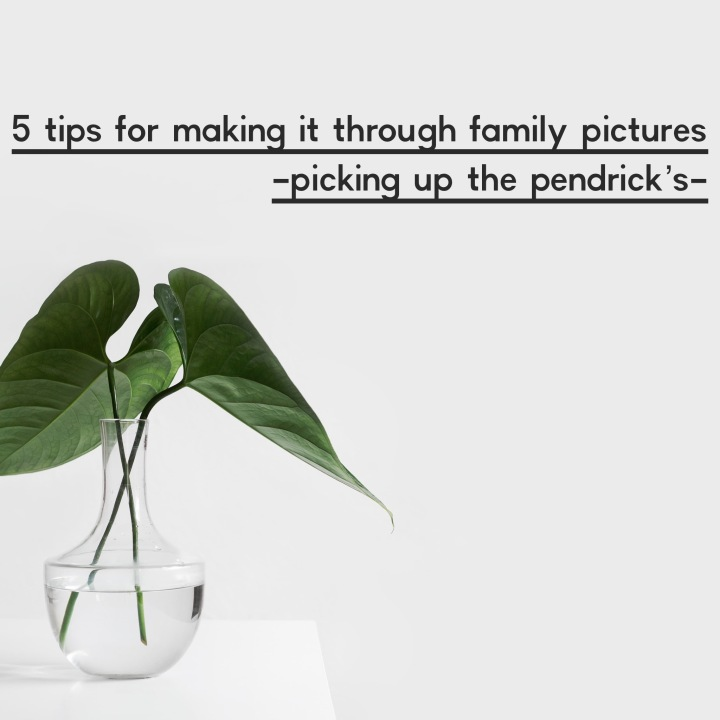 Surprise Post Saturday! 5 Tips For Making It Through Family Pictures